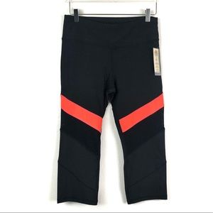 C&C California Marathon Block Capri Mesh leggings